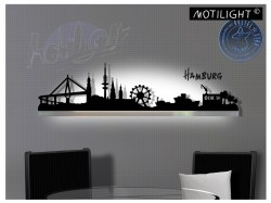 Motilight Skyline Hamburg - LED Lichtleiste
